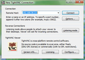 tightvnc viewer